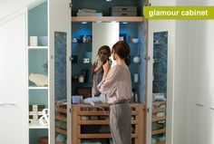 Glamour Cabinet Open cabinets, bedroom idea, bedroom furniture, glamour cabinet, openmi favourit, cabinet openmi