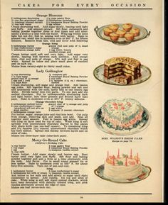 Loving the vintage recipes!!