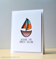 Neat and Tangled: August Guest Designer: Cristina Kowalczyk! wishing you smooth sailing @cristinak