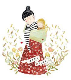 the sling diaries: jodi and poet babywearing history #sakurabloom