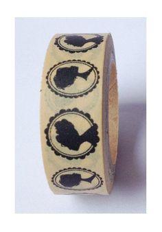 Japanese Washi Tape Masking Tape decoration Tape. $3.90, via Etsy.