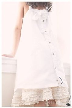 upcycled men's dress shirt