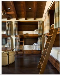 Love the idea of a bunkhouse suite for the ranch