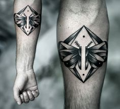 wings by Kamil Czapiga #tattoos