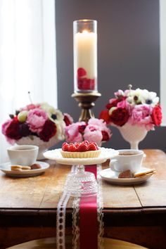 Pink and Red Valentine's Day Tabletop