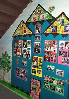 As for me and my house -- families bulletin board