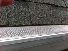 Gutter Dome gutter guard system is virtually maintenance free and its surgical grade stainless steel wire mesh prevents debris from entering your rain gutters. Click here for details!