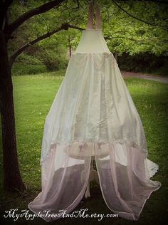 Pale Pink Children's Canopy Tent by MyAppleTreeAndMe on Etsy, $ 139.00