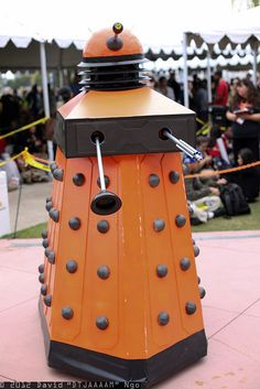 Dalek Cosplay by DTJAAAAM, SDCC 2012, via Flickr
