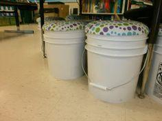 DIY Bucket Seats (with storage!)