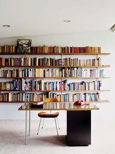 interior, book displays, living rooms, offic, bookcas, bookshelv, librari, bookshelf porn, open shelving