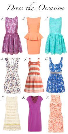 great dresses!