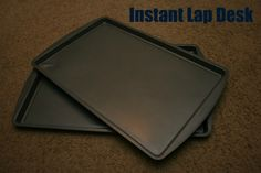like the cookie sheet idea as a lap desk for road trip - plus this site has 25+ Activities for a Road Trip with Kids road trips with kids, kid road trip ideas, travel ideas kids, lap desk, kids activities for road trips, road trip with kids ideas, road trip ideas for kids, traveling ideas for kids, kids road trip lap