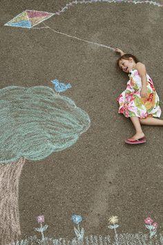 chalk photos...a must!