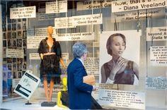 CFDA Fashion Icon Award barneys windows celebration