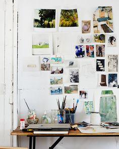 beautiful desk area!