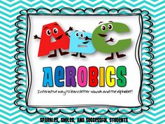 Interactive to learn the alphabet and sounds of letters! Young learners love to move and learn!