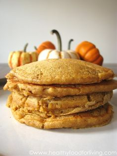 Pumpkin Spice Latte Pancakes for One « Healthy Food For Living