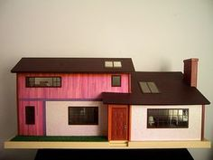 1960s dollshouse