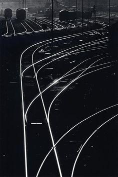 TONI SCHNEIDERS  Weichen, 1957