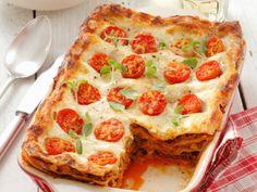 Lasagne met kerstomaten