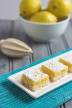 Cooking on the Front Burner: Luscious Lemon Bars