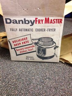 Old Danby Fry Master!