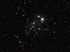 "NGC 457, an open cluster in Cassiopeia. It's known as the Owl Cluster, or the E.T. Cluster, because it seems to have two bright eyes. (Image Credit & Copyright: Ole Nielsen) Mona Evans, ""Cassiopeia the Queen"", http://www.bellaonline.com/articles/art43052.asp"