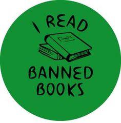 I Read Banned Books Button