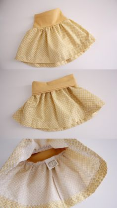 5 different little girls' DIY skirt tutorials from old t-shirts