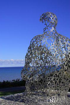 atwat park, sculptur