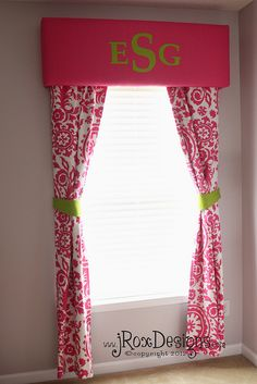 DIY Nursery Window Treatments by jRoxDesigns, via Flickr
