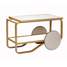 #Artek tea trolley by #AlvarAalto