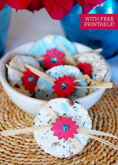 Cute: plantable wildflower seed wedding favors