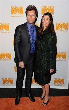 Jon Bon Jovi and Dorothea Hurley. Married 25 years.