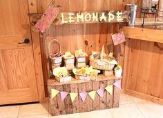 Simply Sarah Style: Lemonade Stand Birthday Party Inspiration