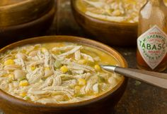 White Chili - perfect for leftover chicken.