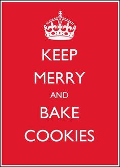Bake Cookies.