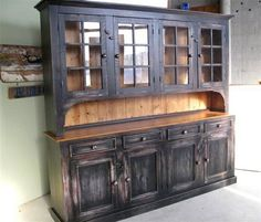 kitchen/dining room hutch