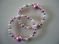 "Queasy Beads Motion Sickness Bracelets in ""Rose Sparkle"" by QueasyBeads, $19.95"