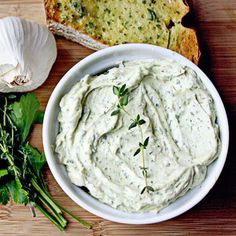 Roasted Garlic Herb Butter