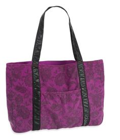 Floral Lace Tote
