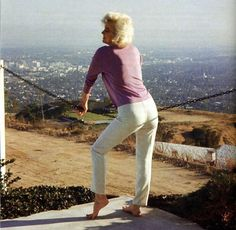 One of the last photos of Marilyn Monroe was taken between June 29th and July 1st 1962 at North Hollywood Hills, in Tim Leimert's house.   Photo by George Barris.