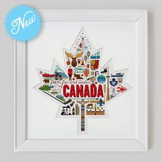 Canada Sampler Cross Stitch Pattern Digital Format by Stitchrovia, £11.99