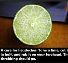 Cure for headaches!