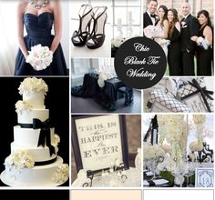 Black Tie Affair - Formal and Chic Wedding