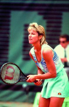 #Tennis, Chris Evert, 1980's
