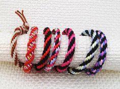 DIY  Kumihimo bracelet by Pilar Gayo