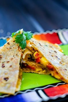 Veggie Quinoa Quesadillas - Cooking Quinoa