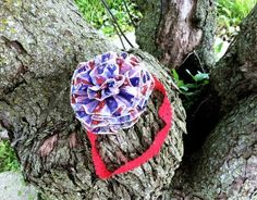 Cute and super sparkly flower and headband combo for 4th of July!